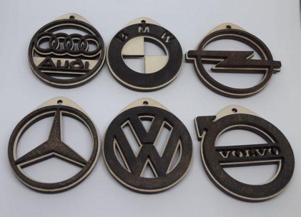 Raktų pakabukas su auto logo