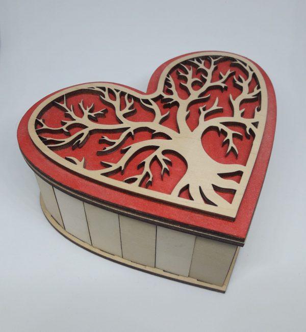 Dėžutė – širdelė